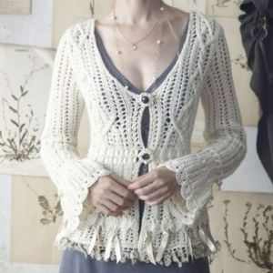 ❄️Anthropologie Guinevere Enchanted Cardigan
